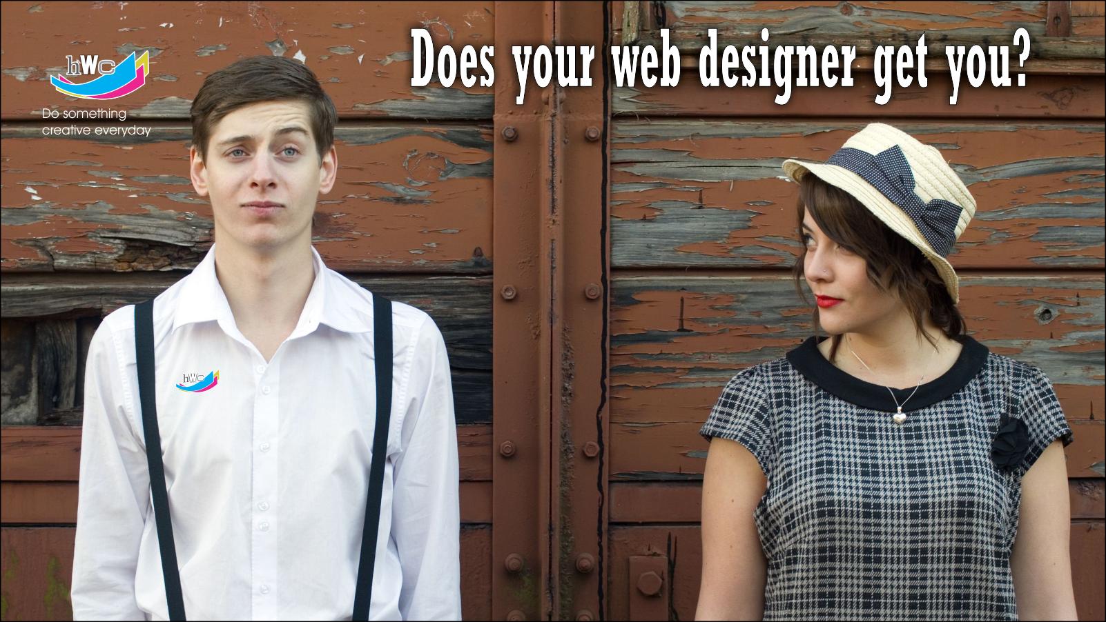 does your web designer get you