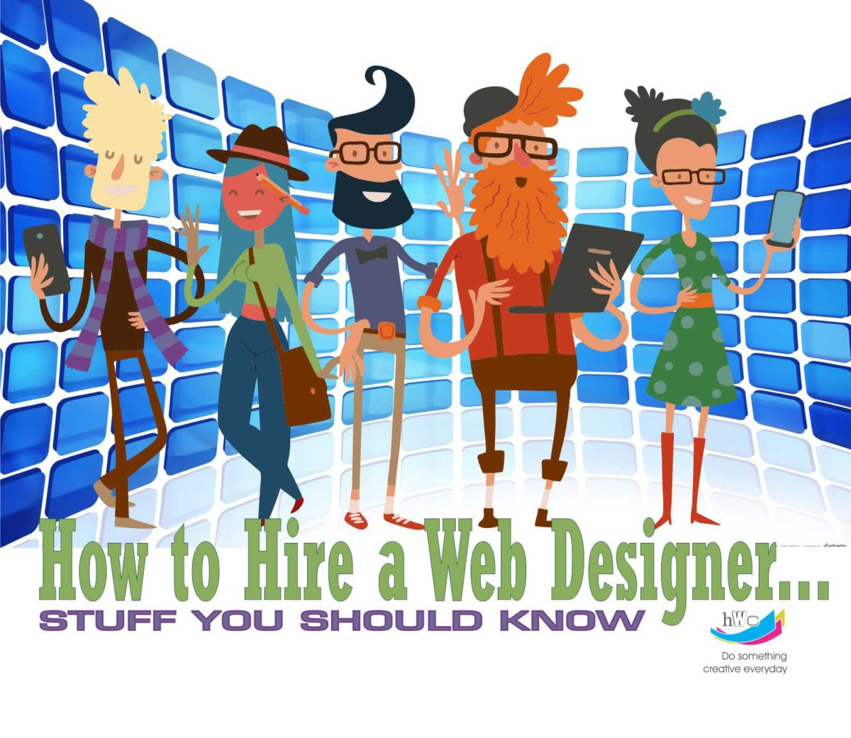 How to hire a web designer - Stuff you should know